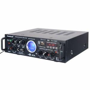 500W 2 Channel bluetooth HiFi Power Amplifier Pro Stereo Home Karaoke System AUS