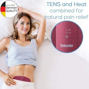 Beurer EM50 Machine For the Relief Menstrual, Electro-Stimulation Tens and Heat