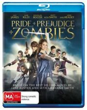Pride and Prejudice and Zombies  - Blu-ray Region B New