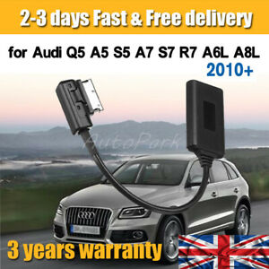 For Audi VW AMI MDI MMI AUX Audio Cable Adapter Bluetooth 5.0 Music Interface UK