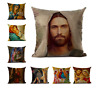 Deluxe RELIGIOUS CHRISTIANITY ART Cushion Covers! Jesus Christ Paintings UK 45cm