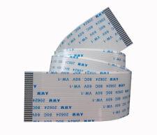 23pin 500mm  AWM 20624 80C 60V FFC Flexible Flat Ribbon Cable  1.0mm 23 pin 50cm