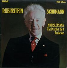 RARE! Rubinstein - Schumann Kreisleriana / The Prophet Bird / Arabesque Vinyl LP