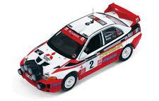 Mitsubishi carisma GT Evo V Nº2 Burns/reid 1º Rally GB 1998 1/43 Ixo