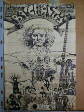 TRES RARE AFFICHE PROGRAMME ILLUSTRE PAR  NICOLAS. DEVIL - LES BACCHANTES - 1970