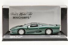 JAGUAR XJ 220 1991 GREEN METALLIC MINICHAMPS 1/43 NEUF EN BOITE PROMOTIONNELLE