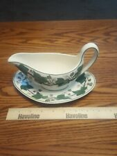 Wedgwood Napoleon Ivy Gravy Boat with Relish Underplate Excellent Condition
