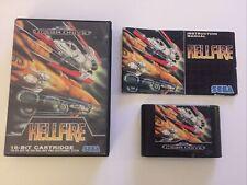 Sega Mega Drive Spiel Hellfire CIB / OVP Sammlungsauflösung
