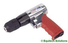 Sealey Tools GSA241 Reversible Air Drill 10mm Keyless Chuck 2200rpm New Workshop