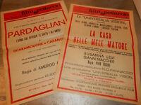 Vecchia pubblicita' FILM PARDAGLIAN LA CASA DELLE MELE MATURE-1970/1 vintage