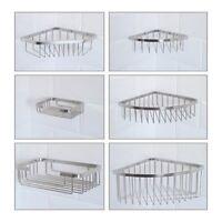 Shower Corner Basket - Stainless Steel - Shower Caddy Storage Shelf Rack Tidy