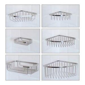 Rust Free Shower Caddy - Stainless Steel - Shower Basket Storage Shelf Rack Tidy
