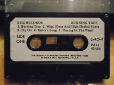 RARE ADVANCE PROMO Burning Tree CASSETTE TAPE rock Black Crowes Marc Ford 1990