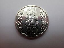 2008 NEW ZEALAND 20 CENT COIN LIGHTLY CIRC VG COND SEE PHOTOS