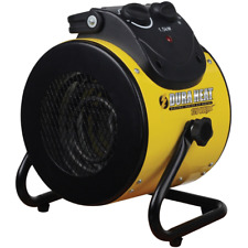 Forced Air Electric Heater Portable Room Space Heaters Fan Heating Home Garage