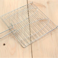 Stainless Steel BBQ Barbecue Grill Grilling Mesh Wire Net Outdoor Cooking