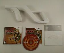 Link's Crossbow Training Wii Game Complete with Zapper Gun/Bow & Manual
