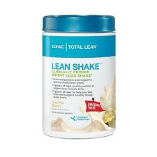 GNC Total Lean Protein Shake Vanilla Bean Weight Loss Shake 1.7 lbs