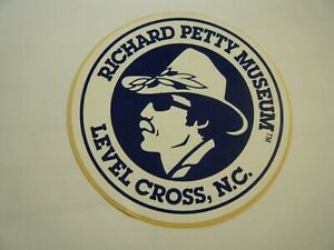 RICHARD PETTY STICKER LEVEL CROSS NC