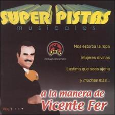 Grupo Musical De Exitos : Pistas: Vicente Fernandez 1 CD