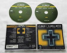 BACH Mass in B minor KARAJAN/SCHWARZKOPF/HOFFGEN/GEDDA Germany 2CD (2004) NMINT)