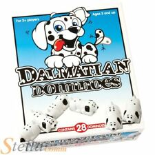 Paul Lamond 28 Chunky Dalmatian Dog Shaped Dominoes Childrens Game