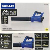 Kobalt 24v Max Brushless Cordless Leaf Blower (Tool Only) KHB 4124B-03