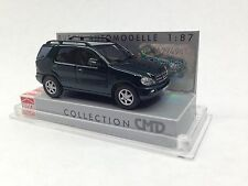 HO 1/87 Busch # 48535 - 2001 Mercedes-Benz M-Klasse ML 500 SUV - Dark Green