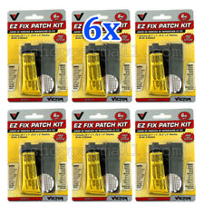 1 to 6 Pack Bicycle Bike Flat Tire Tube Repair Patch Kit Rubber Cement Patches