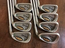 Ping i3 Oversize 3-PW Iron Set JZ Steel Regular Flex Green Dot RH 5334365