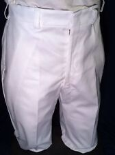 MEDICAL ASSIST MENS TROUSERS COOK UNIFORM PANTS US MILITARY SCRUBS WHITE 30L NWT