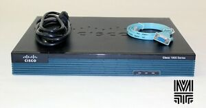 CISCO1921-SEC/K9 Integrated Services Security Router 2-Port GB PoE 256 MB FLASH
