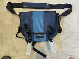 Timbuk 2 Classic Messenger Bag - Small - Navy And Light Blue