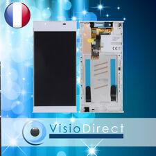 Vitre Tactile Écran LCD sur Chassis pour Sony Xperia L1 Blanc G3311 G3312 G3313