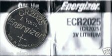 1 New ENERGIZER CR2025 CR 2025 Lithium 3v Coin Battery Aussie Stock Fast Post