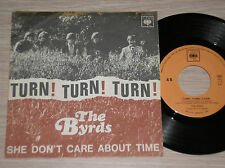 "THE BYRDS - TURN! TURN! TURN! - RARO 45 GIRI 7"" ITALY 1965 UNIQUE COVER"