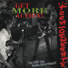 Teengenerate Get More Action! Vinyl LP Record!! japanese garage punk rock NEW!!!
