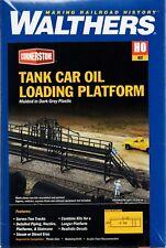 HO Scale Walthers Cornerstone 933-3104 Tank Car Oil Loading Platform Kit