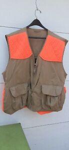 Vintage gamehide bird hunting vest amo pockets game pouch xxl