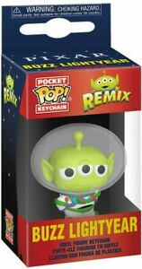 Disney Pixar - Alien Remix Buzz Lightyear Pocket Pop! Keychain