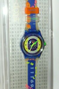 Swatch 1993 Swatchuhr Stop Ssn 101 Stopswatch Stopwatch Time Cup Montre