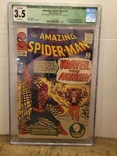 Amazing Spiderman 15 1964 CGC 3.5 GREEN LABEL 1ST KRAVEN MANY OTHER AUCTION (AM1