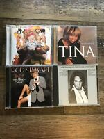 4 CD Lot - Random Rock/Pop (Various Artists - Neil Diamond, Tina Turner & More)
