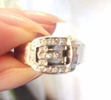 Band White Gold VVS1 Fine Diamond Rings