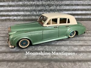 Vintage 1960's ROLLS ROYCE Silver Cloud Friction Toy - Bandai Japan