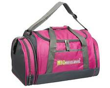 Ladies & Girls Pink Sports & Gym Holdall Bag SPORTS TRAVEL WORK SCHOOL MIG SB07