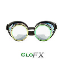 GloFX Polychrome Diffraction Goggles Glasses Durable Polymer Frame Rave Optics