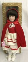 Little Red Riding Hood Land of Enchantment Porcelain Doll Int Collectors Society
