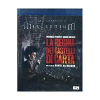 BLU RAY FILM MILLENNIUM TRILOGY MOVIE-LA REGINA DEI CASTELLI DI CARTA book,libro