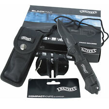 Walther Tactical Set Messer 50715 Tasche und Oramics Messerschärfer Glasbrecher